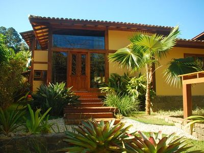 Photo for Comfort and sophistication, 5 condo suites foot in the sand at Feiticeira