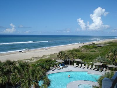 Beach Front Condo With Wonderful Ocean View