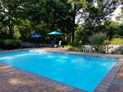 Photo for North Fork,Cutchogue-Nassau Point Home w Saltwater Pool, Private Beach Access