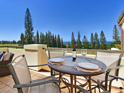 Photo for $139 Last Minute Deal Apr. 1-6 Kapalua Sunsets Ocean Views & Spacious Lanai! 26T