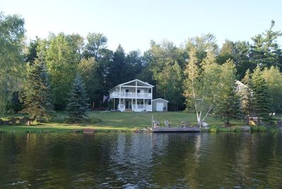 Two docks - swimming and fishing
