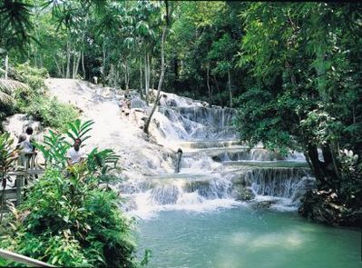 .Duns-river Fall, one the main attraction of JA,are you ready for the adventure?