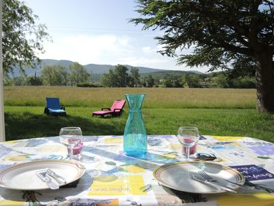 Photo for Cottage, at the foot of Mont Ventoux, between Sault and gorges Nesque