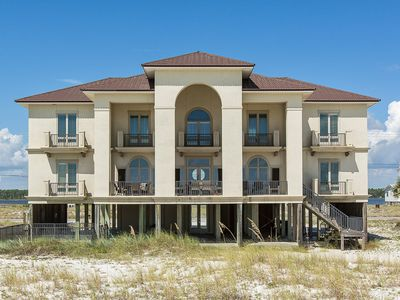 Photo for Bring the whole family to Barefoot Bungalow II: 10 BR/9 BA House in Gulf Shores Sleeps 22