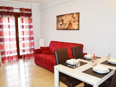 Photo for 3 bedroom apartment near the Colosseum