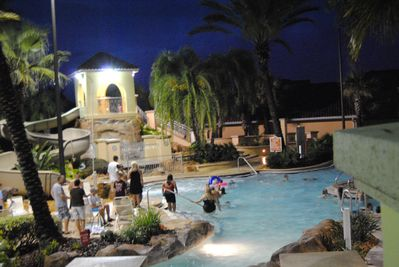 Swim until 11:00pm in the waterpark