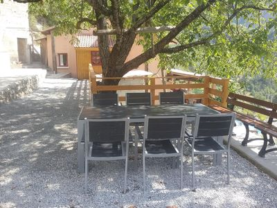 Photo for Small comfortable apartment with terrace and barbecue