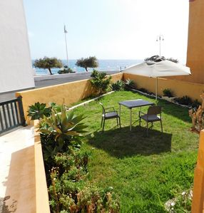 Photo for Beautiful bungalow with sea views