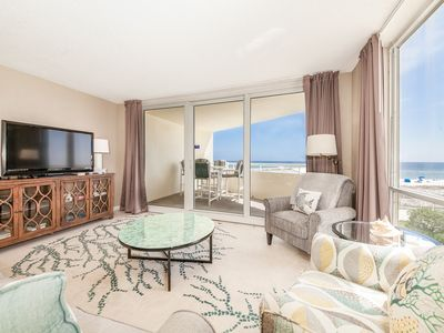 Photo for Gorgeous Perdido Sun Condo, Gulf Front, Hot Tub, Indoor and Outdoor Pool