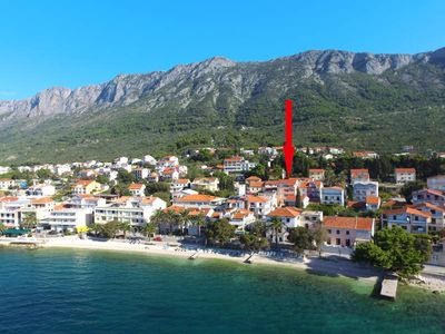 Photo for Apartment Haus Knezovic  in Gradac, Dalmatia - 4 persons, 1 bedroom