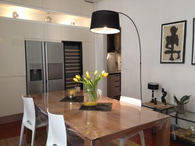 Photo for Very bright apartment in the centre of a historical town