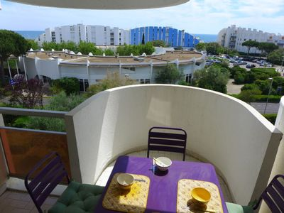 Photo for 2 bedroom Apartment, sleeps 4 in La Grande-Motte with WiFi