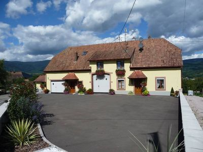 Photo for Character house situated between Strasbourg and Colmar, in the center of Alsace, in typical Alsatian village, close to the Wine Route
