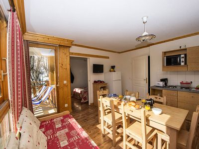 Photo for Residence Le Balcon des Neiges *** - 2 Room Cabin 6 People