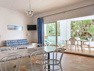 Photo for Two-Bedroom Apartment with Side Sea View located 50m from the beach.