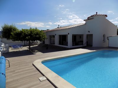 Photo for BEAUTIFUL VILLA WITH PRIVATE POOL AND AMARRE MARINA EMPURIABRAVA