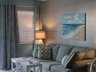Photo for The beach is still fabulous! Rates are lower with lots of sunshine!