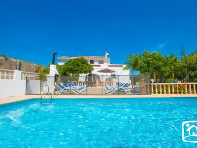 Photo for 7 bedroom Villa, sleeps 15 with Pool, FREE WiFi and Walk to Shops
