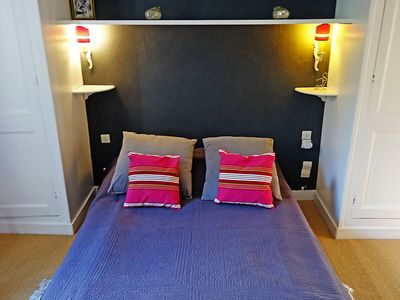 Photo for Apartment 290 m from the center of La Rochelle with Internet, Washing machine, Garden (109277)