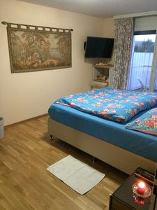 Photo for large private room with balcony for 1-2 guests incl. breakfast