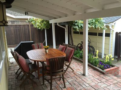 Outdoor dining option for 6 plus