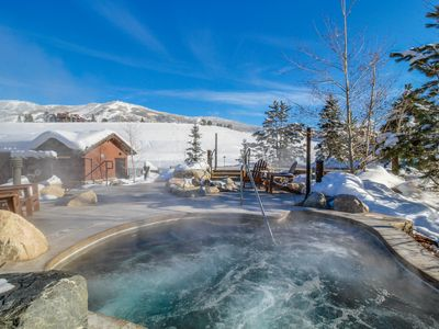 Photo for NEW LISTING! Cozy condo w/balcony, shared pool, hot tub, gym - gondola to slopes
