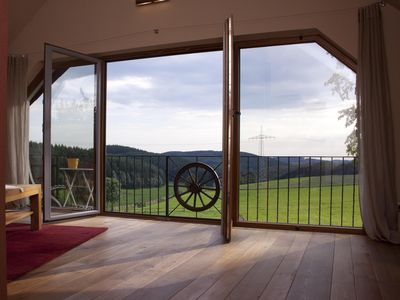 Photo for Turmsuite Hofgut Held, fantastic for lovers with an unforgettable view