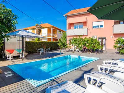 Photo for Apartment Fortuna with pool A1 4 pax Zadar Diklo