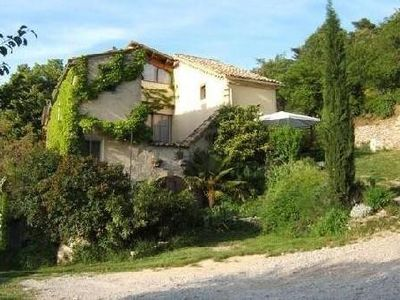 Photo for NYONS autonomous Logis for 4 to 6 people in a quiet Mas with scents of Provence