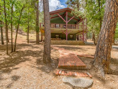 """Photo for """"TJ's Cabin'-Cozy Cabin for 4-Great Outdoor Space to Enjoy Nature and Wildlife"""