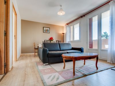 Photo for L'Erulin Two bedrooms 6 people,calm,parking long term welcome