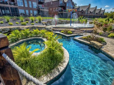 WaterMill Cove Resort Lakefront Lodge-By Silver Dollar City~POOL/LAZY RIVER