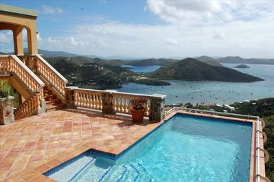 Views of Coral Bay, the East End and the British Virgin Islands