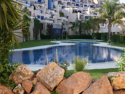 Photo for Mojacar de Atalaya apartment with beautiful views of the sea, WIFI