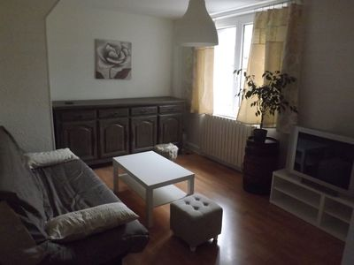 Photo for Renovated apartment on the ground floor of a detached house