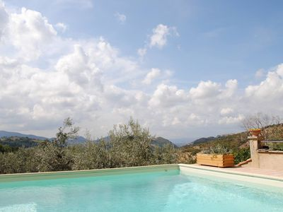 Photo for Rome farmhouse with pool in Sabine Hills near Spoleto Todi Orvieto Rome Farfa