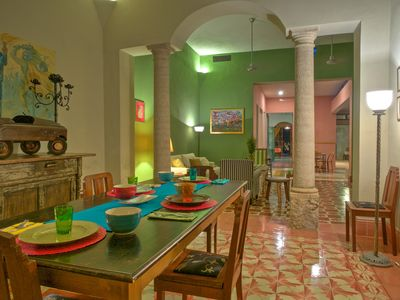 Photo for Case Rosalina : Truly A Grand And Spacious Colonial Home In Historic Merida