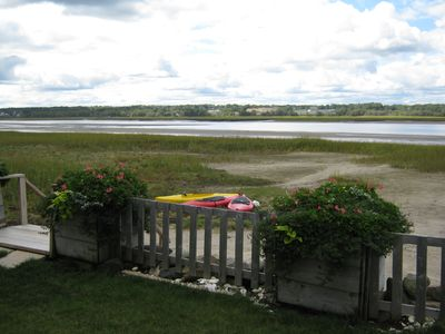Photo for Harborside Cottage, private beach