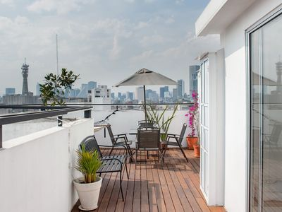 Photo for Penthouse in Centro Historico with 2 Bedroom/2 Bathroom & Private Terrace
