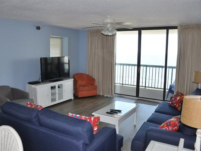 Photo for Beautiful 4 Bedroom Oceanfront Condo In The Ocean Drive Area