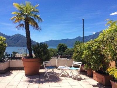 Photo for Exclusive atic appartement with generous panoramic terrace and indoor pool