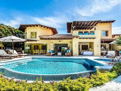 Photo for Villa Ipanema at Las Palmas, Punta Mita -4BDR- Ocean view, beach, tennis & golf