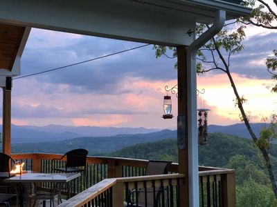 Photo for New Beautiful Mountain Cabin with 180 degree views