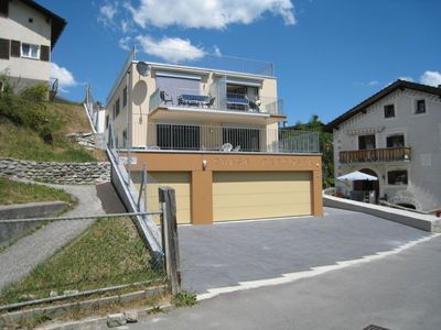 Photo for Apartment Ferienwohnung Chasa Percosta in Scuol - 4 persons, 1 bedrooms