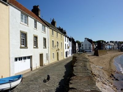 View of cottage towards Anstruther