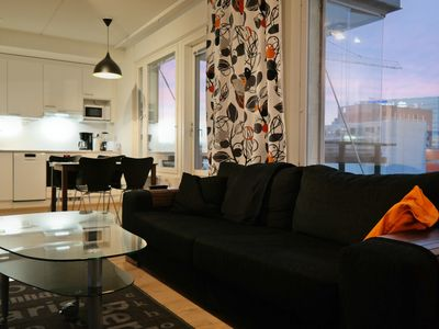 Photo for New high standard apartment with sauna and balcony
