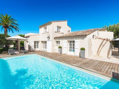 Photo for Palme Bleue - Villa for 10 people in Ramatuelle