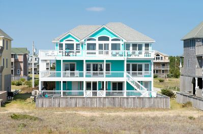 Swell Blue Moon No 1 Rated Luxury Oceanfront Theater Elevator Pool Spa Tiki Bar Rodanthe Download Free Architecture Designs Osuribritishbridgeorg