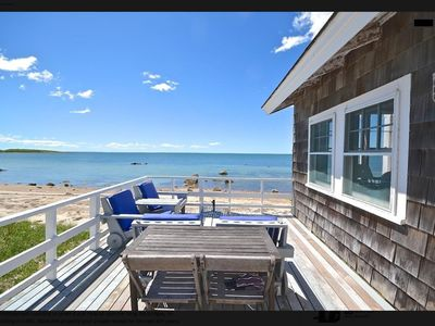 Photo for Beachfront - Right On The Water - Sandy Private Beach