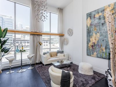 Photo for Gorgeous Downtown Vancouver Loft 2 beds